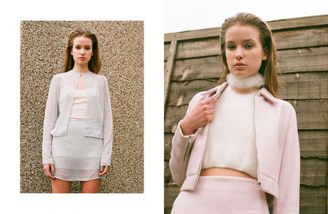 Feminine Nostalgia Catalogs - Sen Wye Creates Clothing That Pays Homage to the 90s