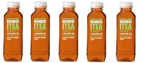 Wholesome Cold-Brewed Teas - The New Iced Teas from 'Emma & Tom' Contain All-Natural Ingreidents