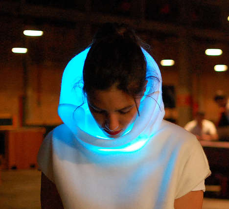 22 Flashy LED Fashion Pieces - From Illumiating Dance Sneakers to Electrifying Soccer Apparel