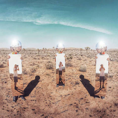Surreal Mirror Portraits - Ari Fararooy Beautifully Explores with Reflections in the Great Outdoors
