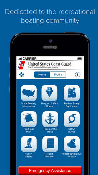Boating Safety Apps - The Official United States Coast Guard App Promotes Civilian Safety