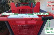 Electrical Supermarket Trolleys