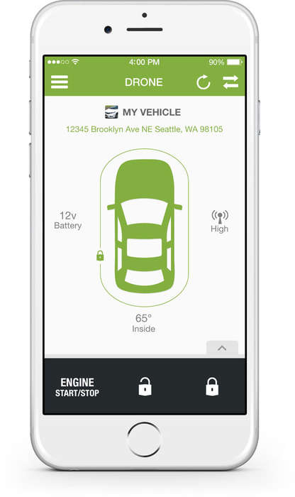 Secure Car Apps - DroneMobile Lets Users Control Vehicle Commands Via Phone
