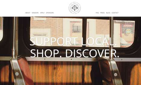Localized Artistan Communities - The Toronto Urban Collective is a Local Pop-Up Market Series