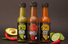 Mayan Sauce Packaging