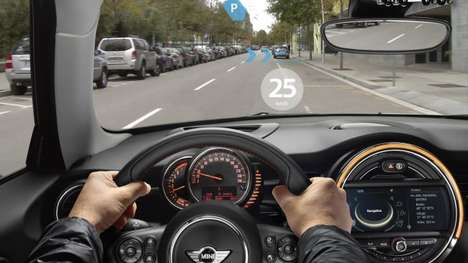 Augmented-Reality Driving Goggles - The New Glasses from BMW Allow Drivers to See Through Their Car