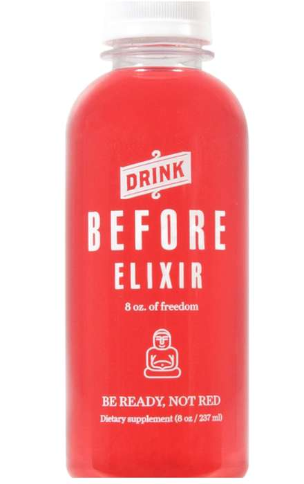 Redness-Reducing Drinks - 'Before Elixir' is Designed to Prevent Alchol-Induced Facial Redness