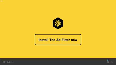 Web Ad-Filtering Extensions - The Advertising Filter System Lets Users Choose What Ads They See