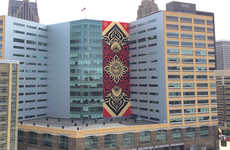 The Shepard Fairey Detroit Mural is the Graffiti Artist's Largest to Date