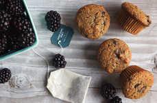 Tea-Infused Blackberry Muffins - These Blackberry Earl Grey Muffins Make the Best Breakfast Pair