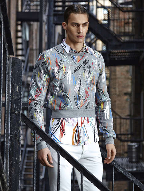Flamboyant Menswear Editorials - August Man Malaysia's Vivid Details Story Boasts Printed Clothing