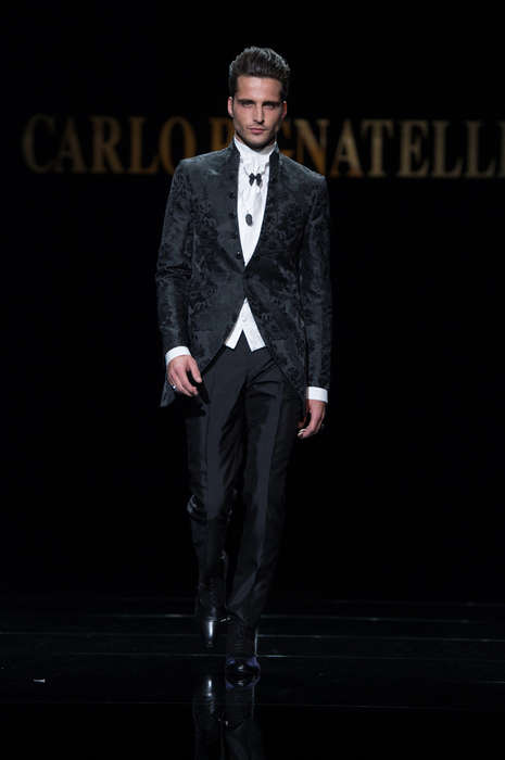 Couture Suit Collections - Carlo Pignatelli Presents His Latest Range of Opulent Pieces