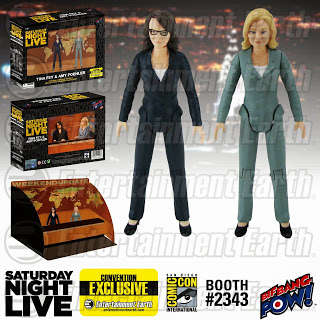 Comedian Action Figures - Iconic Comedy Duo Tina Fey and Amy Poehler are Now Available in Doll Form