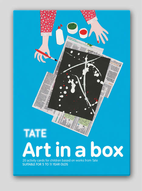 Art History Activity Cards - The Art in a Box Set is a Great Art History Introduction for Kids
