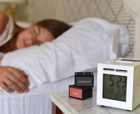 Scent-Based Alarm Clocks