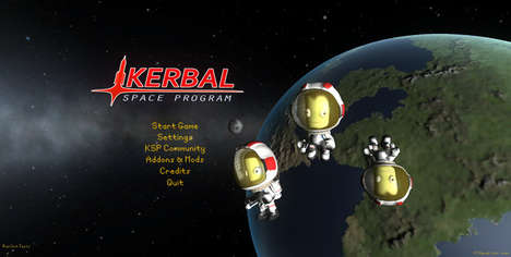 Space Simulation Video Games - Kerbal Space Program is a Space Flight Simulating Game