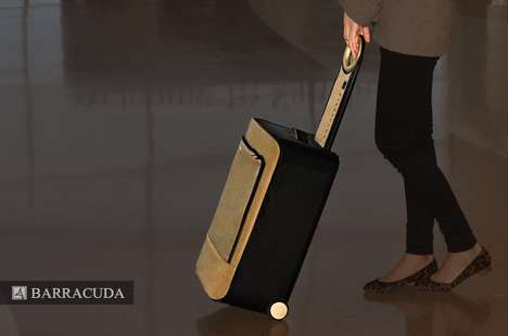 Collapsible Smart Luggage - Barracuda is a Multifunctional and Ergonomic Luggage Solution