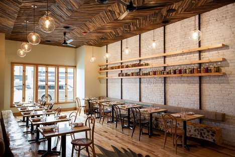 Eclectic Seasonal Restaurants - Gold Cash Gold is a Rustic Farm-to-Table Restaurant in Detroit