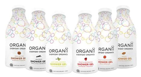 Affordable Organic Toiletries - The 'Organii' line of Bath Products are Gentle and Budget-Friendly