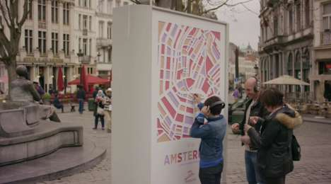 Audible Travel Billboards - Thalys' 'Sounds of the City' Encourages Travel by Engaging the Senses
