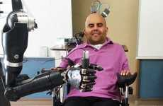 This Robotic Arm Reacts Faster Than Other Thought-Controlled Arms