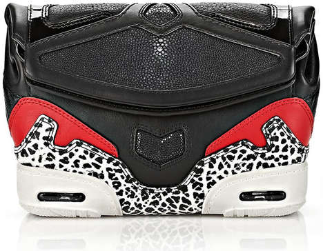 Sneaker-Inspired Clutches - Alexander Wang's Sportluxe Sneaker Clutch is Sporty Chic