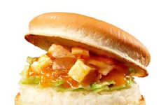 Japanese Rice Burgers - Lotteria's Mongolian Bowl Burger Provides Bites Filled with Carbohydrates