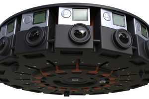 The GoPro 360 Degree Camera Array Shoots 3D Footage Using 16 Cameras