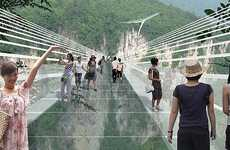 Heart-Stopping Glass Bridges