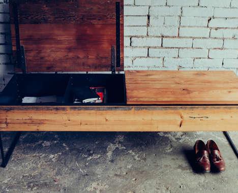 100 Pieces of Rustic Furniture