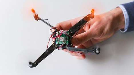 Origami-Inspired Drones - This Origami Drone Spreads Its Wings In Less Than a Second