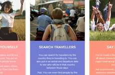 Backpacker Community Platforms - The 'Penroads' Website Helps Travelers Make Friends on the Road