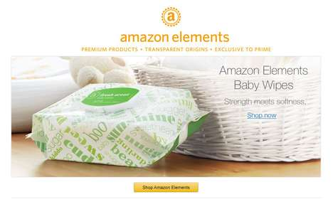 Member-Only Private Labels - Amazon Elements is a Line of Everyday Essentials Such as Diapers