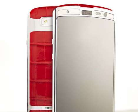 Luxurious Leather Smartphones