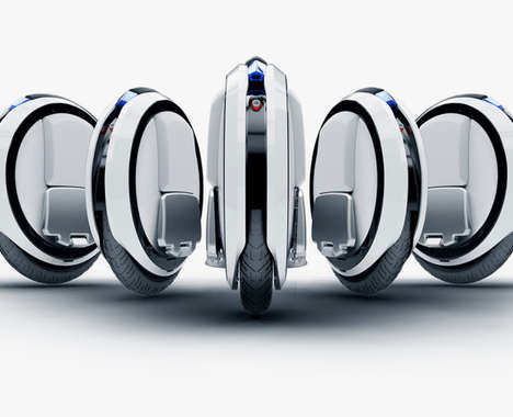Futuristic Balancing Scooters