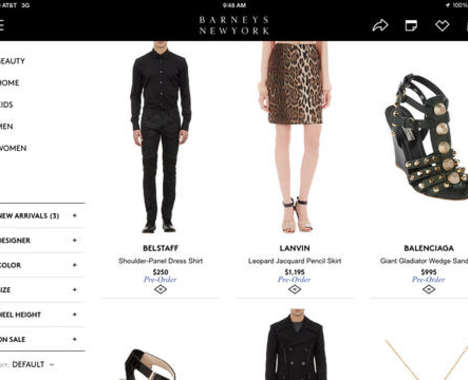 Luxurious Shopping Apps