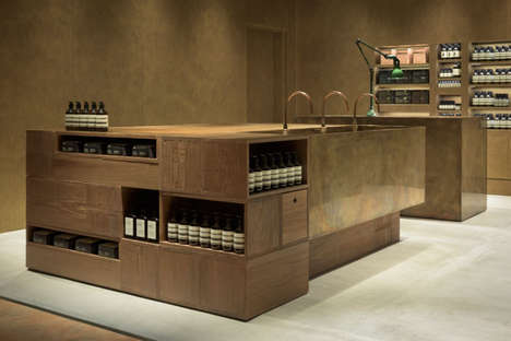 Diplomatic Beauty Boutiques - The Aesop Fukuoka is Inspired by the City's History of Trade