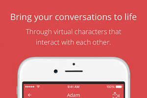 MimeChat's Chat Messenger Turns Conversations into Lively Cartoons