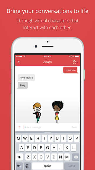 Animated Messaging Apps - MimeChat's Chat Messenger Turns Conversations into Lively Cartoons
