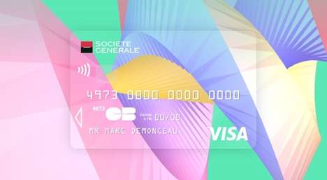 Artistic Credit Card Branding - These Creacarte Contest Entries Revamp Boring Bank Card Designs