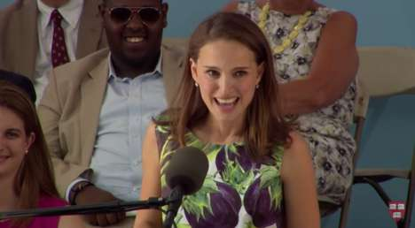 Leveraging Inexperience - Natalie Portman's Speech at Commencement on Overcoming Insecurity