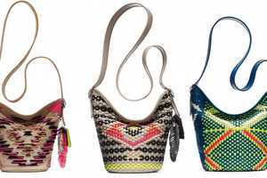 Coach's Tribal Collection Features Bold Festival Fashion