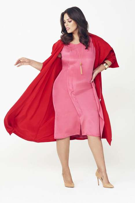 Luxury Full-Figured Fashion - Evans' Fashion Reimagines Designer Apparel for Plus-Sized Women