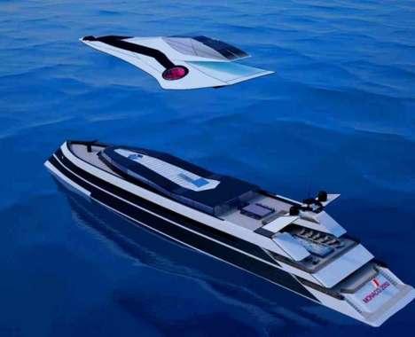 Flying Yacht Hybrids