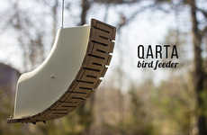 This Modular Bird Feeder Has Been Modelled Specially for the Goldfinch