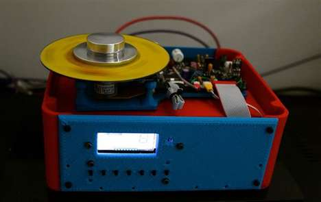 3D-Printed CD Players - Botz&Us;' Music Player Boasts a Sound to Rival High-End Systems