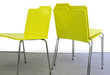 Stationary Inspired Office Furniture -The Folder Chair by Rita