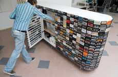 Recycling Outdated Technology - The Cassette Tape Closet