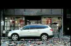 Chevy Traverse Ad Exploits Compulsive Shoppers
