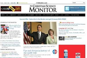 Christian Science Monitor Goes Web-Only